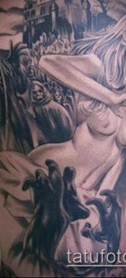 тату на бедре мужские (значение) – пример интересного рисунка тату – 005 tatufoto.com