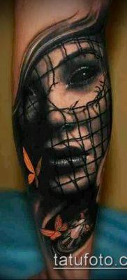 тату на икре фото (значение) – пример интересного рисунка тату – 054 tatufoto.com