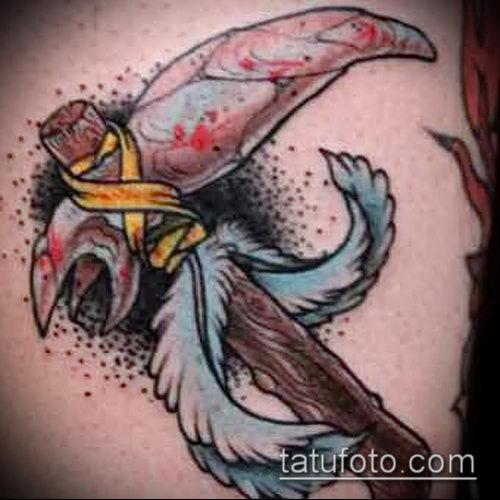 тату топор фото (значение) - пример интересного рисунка тату - 007 tatufoto.com