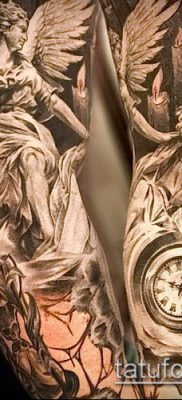 тату человек фото (значение) – пример интересного рисунка тату – 009 tatufoto.com
