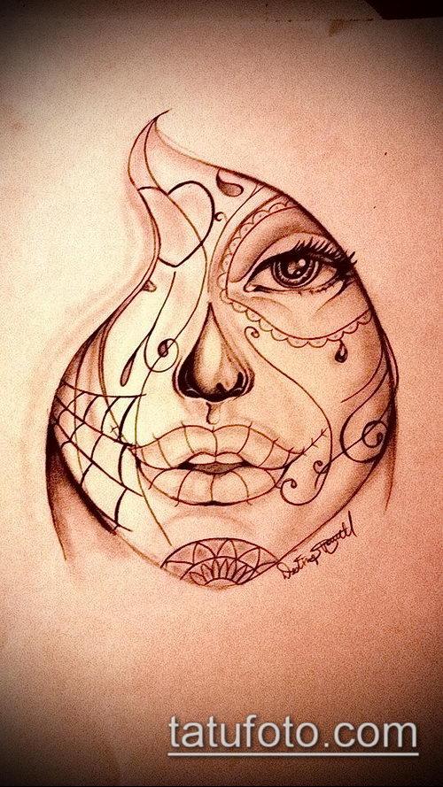 Как рисовать людей с татуировками