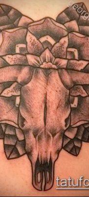 тату череп быка фото (значение) – пример интересного рисунка тату – 024 tatufoto.com