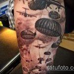 фото военных тату №20 - интересный вариант рисунка, который успешно можно использовать для переработки и нанесения как картинка тату летучей мыши военное