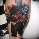 фото военных тату №470 - крутой вариант рисунка, который легко можно использовать для переработки и нанесения как военные тату скорпион