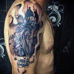 фото военных тату №556 - эксклюзивный вариант рисунка, который успешно можно использовать для переделки и нанесения как тату военная разведка летучая мышь