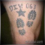 фото военных тату №755 - эксклюзивный вариант рисунка, который удачно можно использовать для преобразования и нанесения как военные тату скорпион