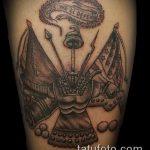 фото военных тату №705 - классный вариант рисунка, который хорошо можно использовать для переделки и нанесения как тату военная разведка летучая мышь