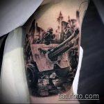 фото военных тату №696 - интересный вариант рисунка, который хорошо можно использовать для преобразования и нанесения как военные тату скорпион