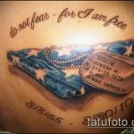 фото военных тату №588 - достойный вариант рисунка, который удачно можно использовать для доработки и нанесения как военные тату на руке