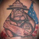 фото военных тату №70 - крутой вариант рисунка, который хорошо можно использовать для преобразования и нанесения как военно морские тату