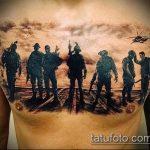 фото военных тату №170 - достойный вариант рисунка, который удачно можно использовать для переработки и нанесения как тату на военную тему