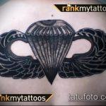 фото военных тату №486 - эксклюзивный вариант рисунка, который хорошо можно использовать для доработки и нанесения как картинка тату летучей мыши военное