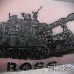 фото военных тату №30 - интересный вариант рисунка, который хорошо можно использовать для доработки и нанесения как военное тату на плече
