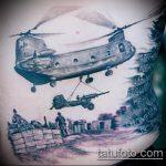 фото военных тату №990 - прикольный вариант рисунка, который удачно можно использовать для переделки и нанесения как военно морские тату