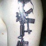 фото военных тату №890 - интересный вариант рисунка, который хорошо можно использовать для переработки и нанесения как военные тату скорпион