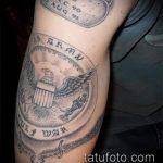 фото военных тату №27 - классный вариант рисунка, который успешно можно использовать для преобразования и нанесения как тату военно морского флота