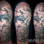 фото военных тату №126 - уникальный вариант рисунка, который легко можно использовать для доработки и нанесения как картинка тату летучей мыши военное