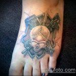 фото военных тату №5 - достойный вариант рисунка, который легко можно использовать для преобразования и нанесения как военные тату на руке