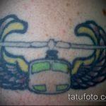 фото военных тату №250 - крутой вариант рисунка, который удачно можно использовать для переработки и нанесения как тату военная разведка