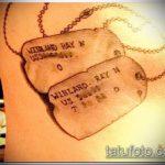 фото военных тату №832 - уникальный вариант рисунка, который хорошо можно использовать для переделки и нанесения как военные тату на руке