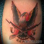 фото военных тату №841 - эксклюзивный вариант рисунка, который хорошо можно использовать для переработки и нанесения как тату военная разведка