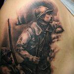 фото военных тату №185 - уникальный вариант рисунка, который успешно можно использовать для переделки и нанесения как тату военная разведка летучая мышь
