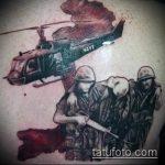 фото военных тату №864 - достойный вариант рисунка, который успешно можно использовать для переработки и нанесения как тату военно морского флота