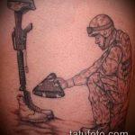 фото военных тату №702 - интересный вариант рисунка, который легко можно использовать для преобразования и нанесения как военные тату на руке