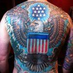 фото военных тату №466 - уникальный вариант рисунка, который успешно можно использовать для переработки и нанесения как военное тату на плече