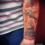 фото военных тату №163 - крутой вариант рисунка, который хорошо можно использовать для преобразования и нанесения как тату военно морского флота