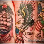 фото военных тату №576 - классный вариант рисунка, который хорошо можно использовать для доработки и нанесения как тату военная разведка