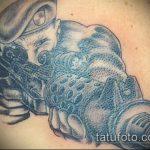 фото военных тату №133 - уникальный вариант рисунка, который хорошо можно использовать для переделки и нанесения как военные тату на руке