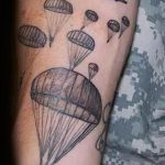 фото военных тату №470 - эксклюзивный вариант рисунка, который легко можно использовать для преобразования и нанесения как тату военная разведка летучая мышь