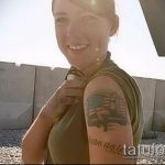 фото военных тату №321 - интересный вариант рисунка, который хорошо можно использовать для преобразования и нанесения как тату на военную тему