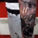 фото военных тату №513 - классный вариант рисунка, который удачно можно использовать для переделки и нанесения как картинка тату летучей мыши военное