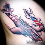 фото военных тату №485 - уникальный вариант рисунка, который хорошо можно использовать для переделки и нанесения как военные тату скорпион
