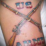 фото военных тату №891 - классный вариант рисунка, который легко можно использовать для переработки и нанесения как военные тату скорпион