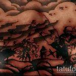 фото военных тату №693 - эксклюзивный вариант рисунка, который успешно можно использовать для переработки и нанесения как военные тату скорпион