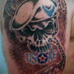 фото военных тату №410 - эксклюзивный вариант рисунка, который легко можно использовать для доработки и нанесения как военно морские тату