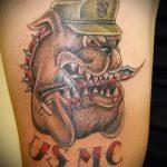 фото военных тату №740 - уникальный вариант рисунка, который хорошо можно использовать для преобразования и нанесения как тату военно морского флота