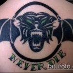 фото военных тату №693 - крутой вариант рисунка, который легко можно использовать для переработки и нанесения как тату военно морского флота