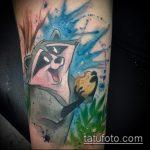 фото тату енот №780 - классный вариант рисунка, который успешно можно использовать для переделки и нанесения как фото тату енота на икре