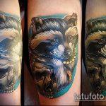 фото тату енот №156 - уникальный вариант рисунка, который легко можно использовать для преобразования и нанесения как тату эскизы енот на плечо