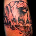 фото тату енот №477 - достойный вариант рисунка, который легко можно использовать для переработки и нанесения как тату эскизы енот на плечо