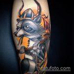фото тату енот №718 - крутой вариант рисунка, который успешно можно использовать для преобразования и нанесения как тату эскизы енот на плечо