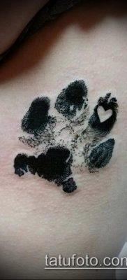 фото тату кошачьи лапки (значение) – пример интересного рисунка тату – 002 tatufoto.com