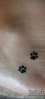 фото тату кошачьи лапки (значение) – пример интересного рисунка тату – 023 tatufoto.com