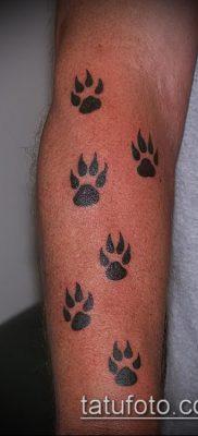 фото тату кошачьи лапки (значение) – пример интересного рисунка тату – 031 tatufoto.com