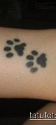 фото тату кошачьи лапки (значение) – пример интересного рисунка тату – 038 tatufoto.com
