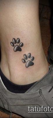 фото тату кошачьи лапки (значение) – пример интересного рисунка тату – 046 tatufoto.com